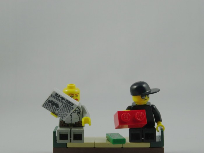 Lego is the uncut diamond with black market sales occurring around the world.