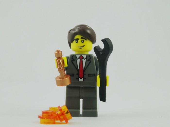 "Phil Lord, the Lego Movie director responded to an Oscars snub for Best Animated Feature by tweeting ""It's OK. I made my own"" [Oscar Statue]."