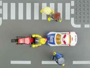 Swedish designer Einar Öberg created a 'Lego' style Google Street View called 'Brick Street View' by using code to add a layer of Lego on top of Street View
