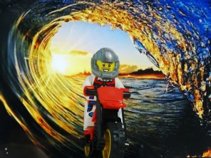 Australian daredevil Robbie Maddison has become the first person to surf a wave on a motorbike, which was captured by DC in a video called Pipe Dream.