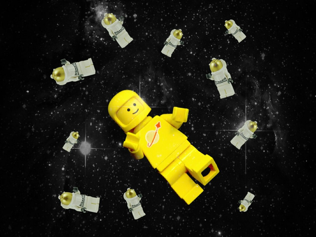 Denmark's first astronaut Andreas Mogensen is headed to the International Space Station with 2 crew members and 20 astronaut minifigures provided by Lego!