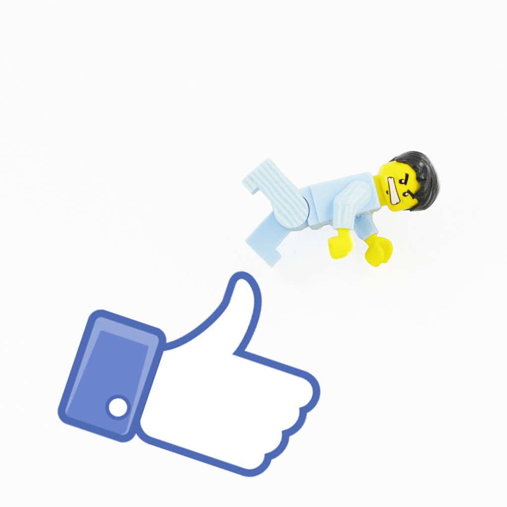 how to get a like us on facebook button