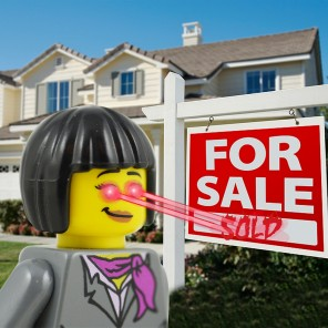 """A Vancouver real estate agent shoots laser beams from her eyes and """"sees what others miss"""", according to her advertisement..."""