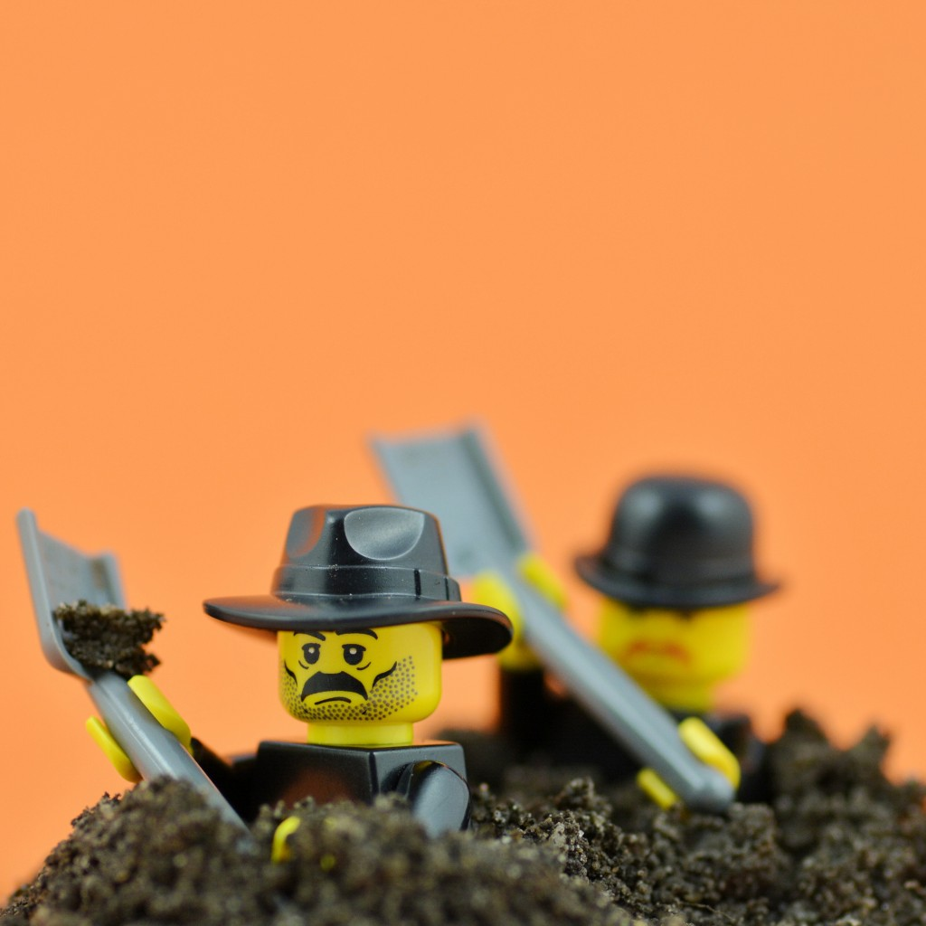 Gravediggers in Debrecen, Hungary recently competed in a championship to dig the neatest grave as fast as possible!