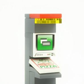 Students at Ohio's Xavier University can soon order pizza at the touch of a button via the first Pizza ATM in the USA!