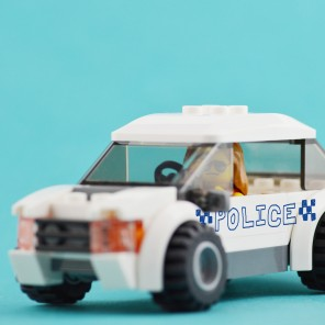 A woman was arrested by (real) police in Perth after she was caught driving a fake police car, which was a white Hyundai with 'POLICE' signage written in blue marker.