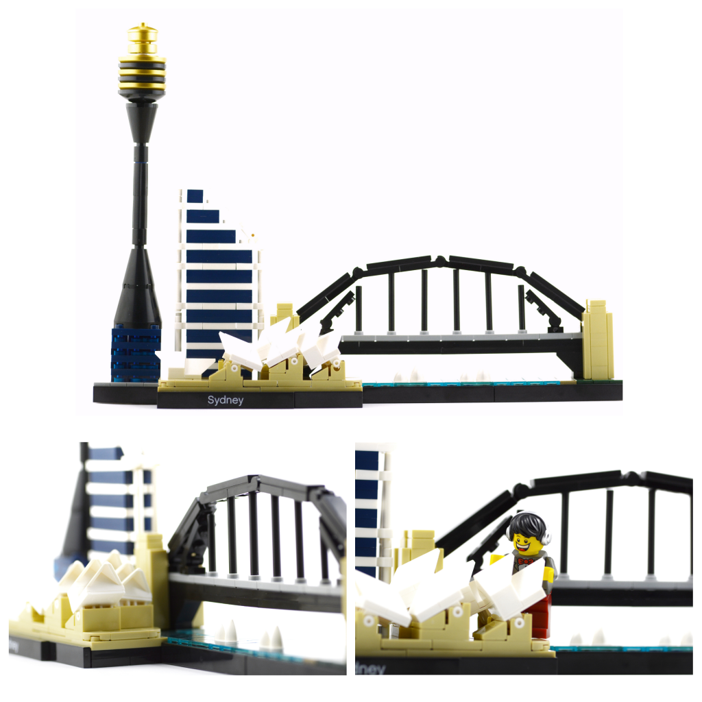 The good folks at Lego have immortalised the Sydney skyline in a 361-piece addition to the Skyline Collection of the Architecture series.