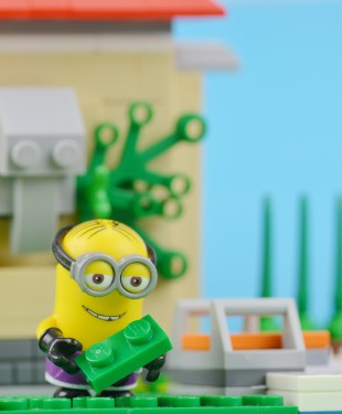 A West Australian man is being taunted by a minion, who stole a patch of his lawn and has since uploaded pics of the despicable deed to Facebook