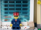 An Italian postman has been arrested after 573kg (1,100 pounds) of undelivered mail was found stashed in the garage of his home in Vicenza.
