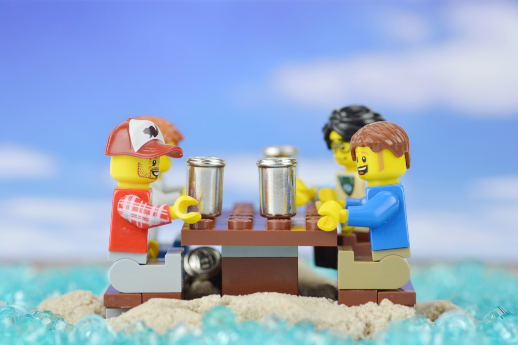 A group of friends built an island so that they could drink in 'International waters', thereby getting around a New Year's Eve alcohol ban in New Zealand!