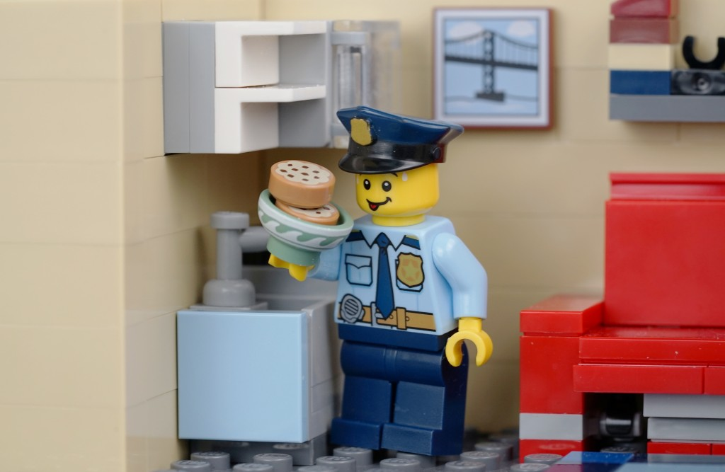 Who stole the cookies from the cookie jar? It's alleged that a Kingston cop took a colleague's tin of biscuits, then gave a false account of his actions.