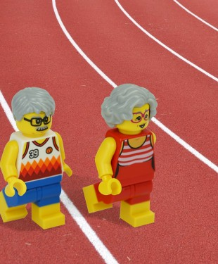 102-year-old Julia 'Hurricane' Hawkins and 100-year-old Orville Rogers set new world records in their respective 60-metre races in the 100-plus age range!